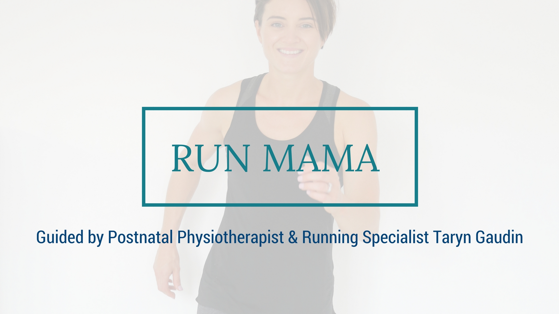 Image of postnatal running program